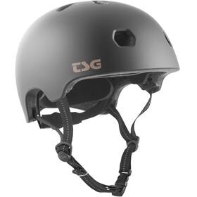 TSG Meta Solid Color Kask rowerowy czarny